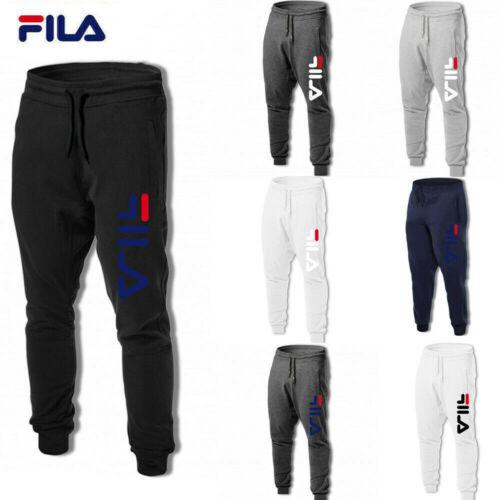 FILA Herren Jogginghose Unisex Baumwolle Fitness Freizeithose Jogginghose Cool