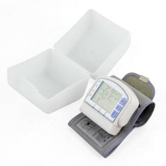 NEW Digital Wrist Blood Pressure Pulse Monitor Heart Beat Meter