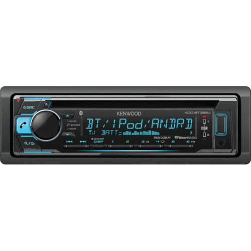 $84.72 - Kenwood Car Stereo CD Player Receiver with Bluetooth Front USB AUX | KDC-BT368U
