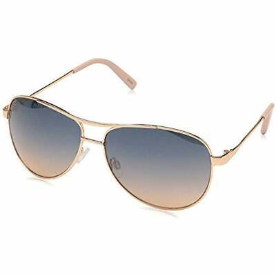 Jessica Simpson Damen J106 Rgld Nicht Polarisiert Aviator Sonnenbrille Rose Gold