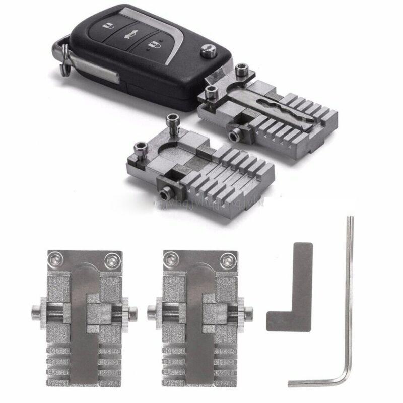 Key Clamp Fixture Duplicat Cutting Machine For Car Key Copy Locksmithing Tools