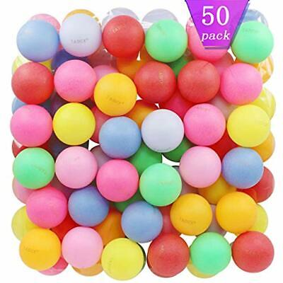Beer Ping Pong Balls Assorted Color Plastic (50 Pack) Sports & Outdoors Table