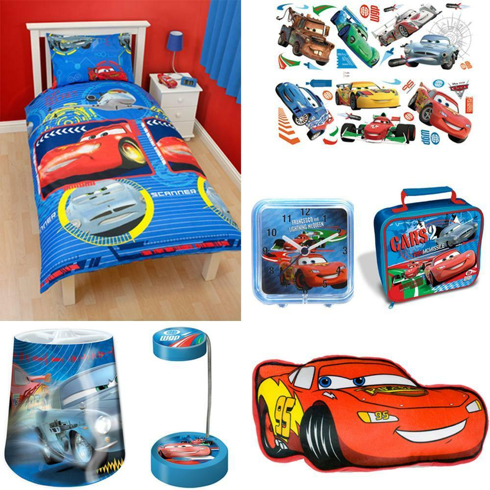 Disney Cars Bedroom Accessories Bedding Stickers Lighting Furniture More Ebay