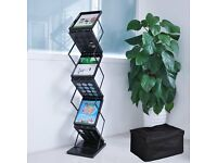 Portable A4 Literature Stand Foldable Brochure Rack
