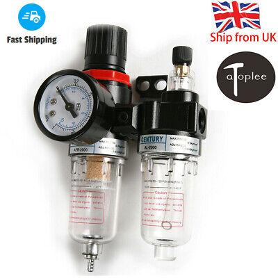 1Pc AFC Air Pressure Regulator Oil/Water Separator Moisture Trap Filter Compress