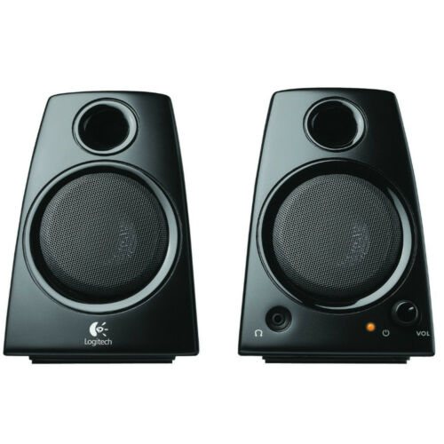 Logitech Z130 3.5mm Jack Compact Laptop Speakers