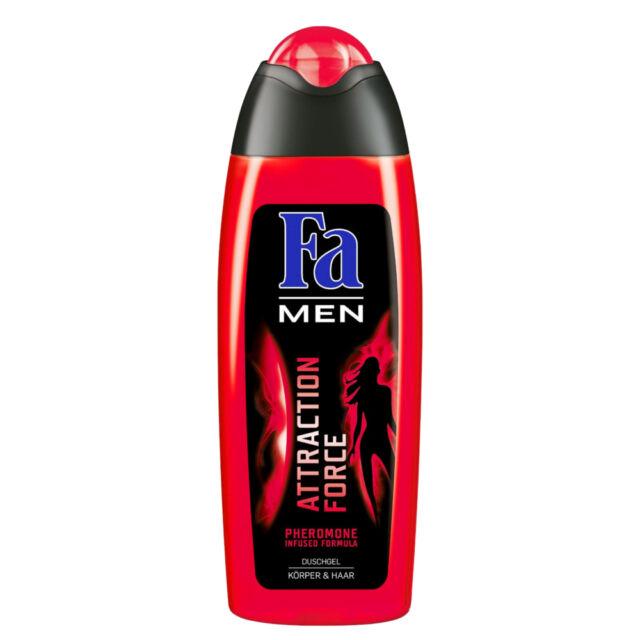 (13,04€/L) 250ml Fa Men Attraction Force Duschgel Pheromone Körper & Haar
