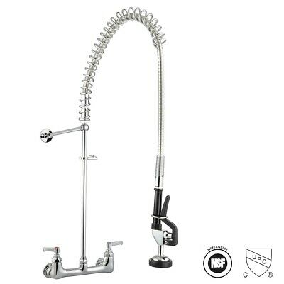 Commercial Pre-rinse Faucet Kitchen Sink Faucet Pull Down Sprayer Mixer Tap