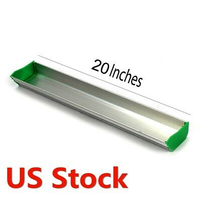 Us Stock 20 Aluminum Emulsion Scoop Coater For Silk Screen Printing Dual Edge