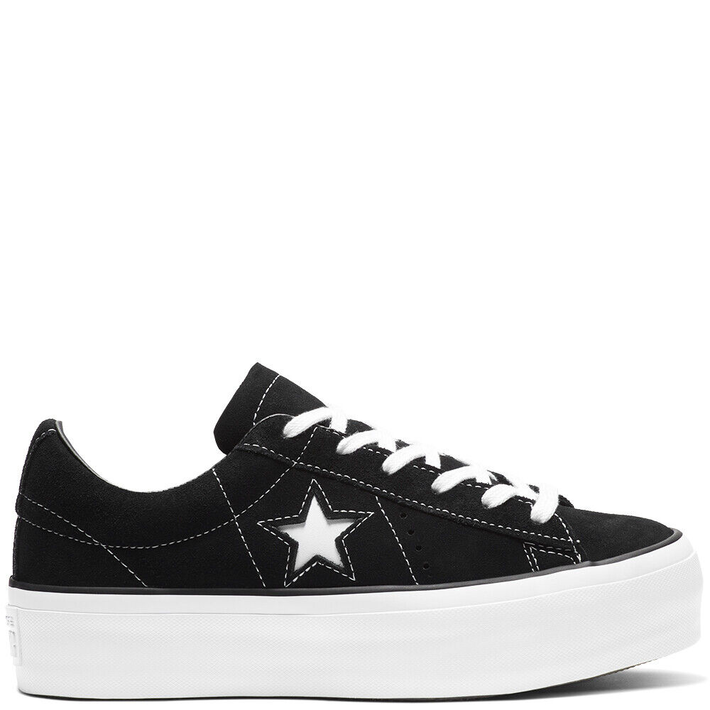 Converse Women's One Star HI PLATFORM Suede Low Top Trainers SALE!!!