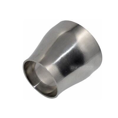 76mm To 51mm Sanitary Weld Welding Reducer Pipe Fittings Stainless Steel Ss304