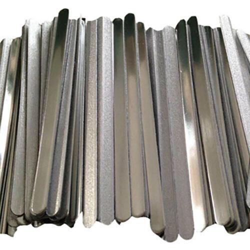 100pcs/Pack Aluminum Strips Straps Nose Bridge Clip Strips D
