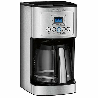 Cuisinart DCC-3200 14-Cup Programmable Coffee maker Sombre/ Stainless Steel