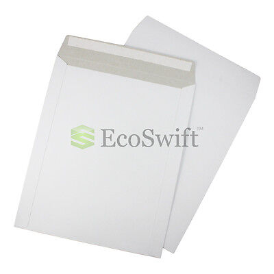 15 - 11 X 13.5 Self Seal White Photo Shipping Flats Cardboard Envelope Mailers