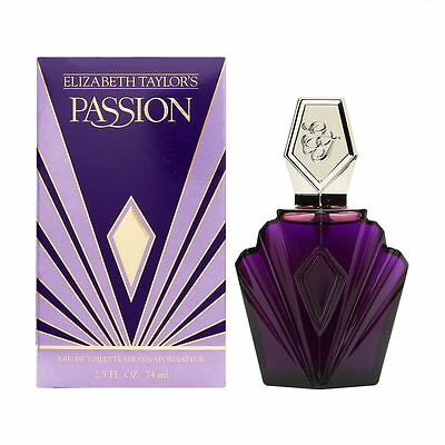 Passion By Elizabeth Taylor 2 5 Oz 74 Ml Women Perfume Edt Spray New In Box