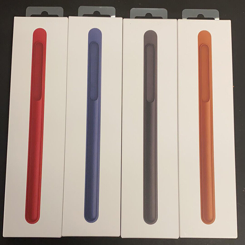 Authentic Genuine Original Apple Pencil Natural Leather Case Cover SEALED US Cases, Covers, Keyboard Folios