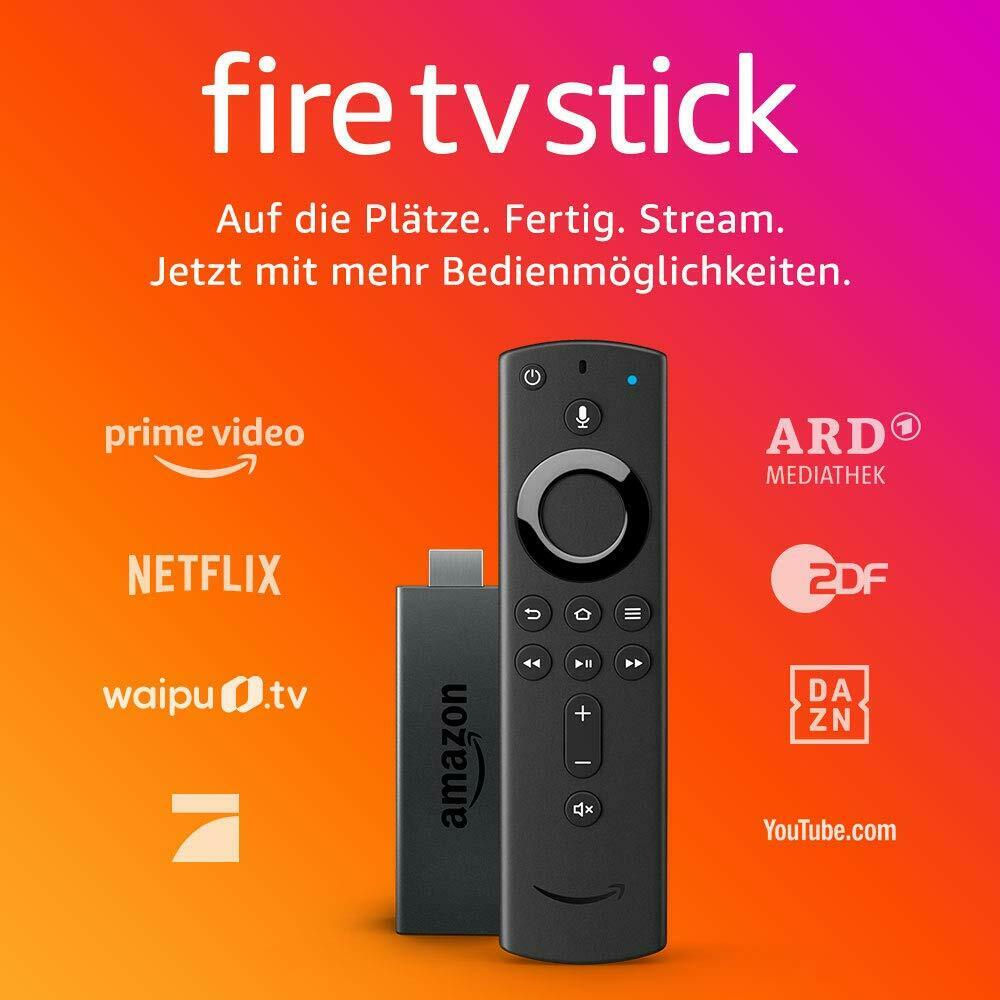 Amazon Fire TV Stick 2.Gen (2019) inkl. der Alexa Sprachfernbedienung HDMI NEU