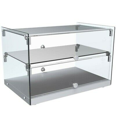 Marchia Sa50 22 Dry Glass Countertop Bakery Display Case Dual Service