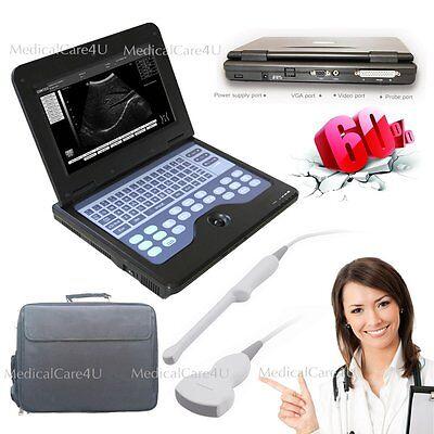 Digital Ultrasound Scanner Portable Laptop Machine Cms600p2 2 Probesusa Stock
