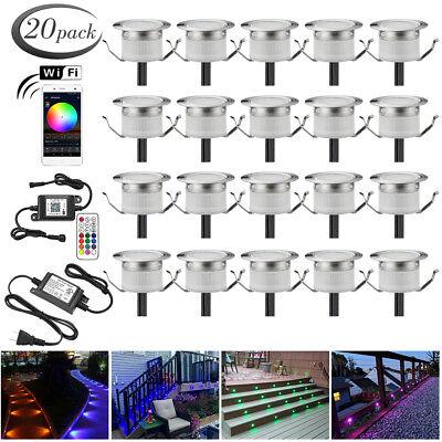 20x Smart WIFI Controller 31mm Outdoor Landschaft LED - Outdoor Landschaft Beleuchtung