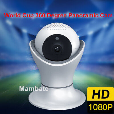 Scenic Wireless 1080P Pan Tilt Network Security WiFi IP Camera Night Vision