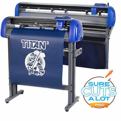 28 Uscutter Titan 3 Professional Sign Vinyl Cutter Plotter Wscalpro 4 Mac