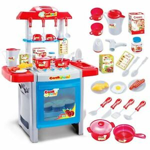 Electronic kitchen oven cooking baking childrens chefs for Electronic kitchen set