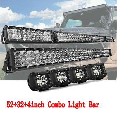 Curved Fold 52Inch LED Light Bar+ 32