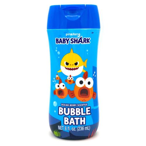 Baby Shark Bubble Bath 8 oz - Ocean Berry Scent Non Toxic Parabens & BPA Free