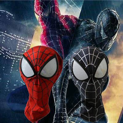 The Amazing Spiderman 3D Mask Adult Superhero Lenses Halloween Cosplay Costume - Spiderman Masks