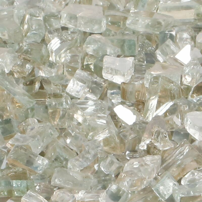BALI OUTDOORS Fire Glass 10 Pounds Fire Glass Indoor Outdoor Reflective
