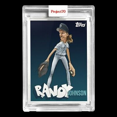 Topps PROJECT 70 Card 40 - Randy Johnson by Blue the Great