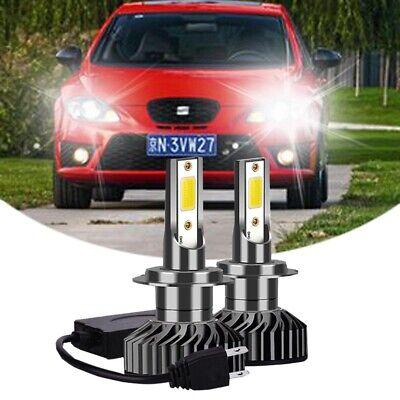 Seat Leon 1P1 100w Super White Xenon HID Low Dip//Canbus LED Side Light Bulbs Set