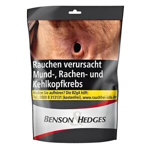 5 x 150g Benson & Hedges Black