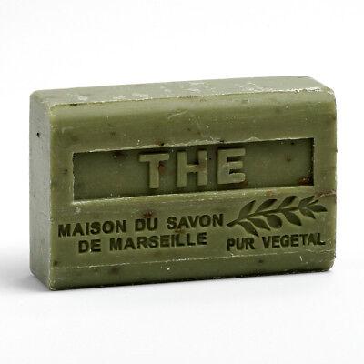 Grüne Bio-seife (Provenzalische Seife Grüner Tee (Thé Broyé) mit Bio-Sheabutter (125 Gramm))