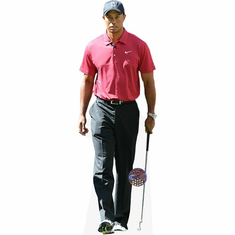 Tiger Woods (Red Top) Life Size Cutout