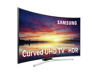 **CURVED** 55in Samsung 4K UHD SMART TV -1600PQI- wifi- voice ctrl- Freeview/HD -warranty
