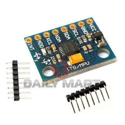 Mpu-6050 3 Axis Gyroscope Sensor Accelerometer Module For Mpu 6050 Arduino