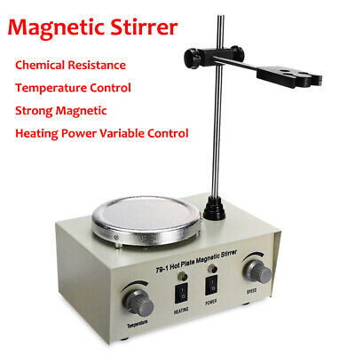 Electric Digital Hot Plate Magnetic Stirrer Heating Mixer Temperature Control