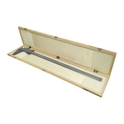 24 Heavy Duty Vernier Caliper 600mm .001 Precision Metric Ruler Measure Scale