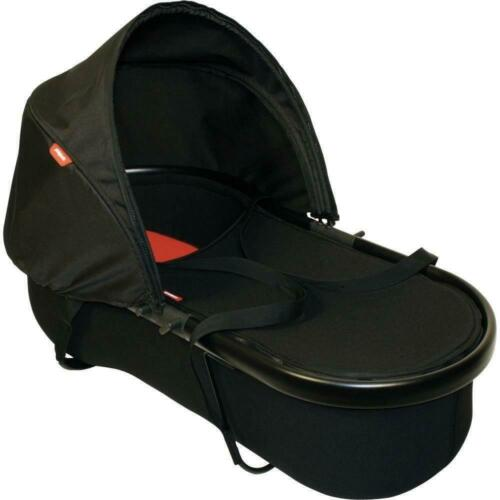 Phil & Teds Peanut Newborn Buggy Bassinet for Stroller Black on Black