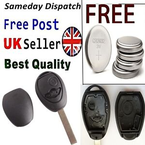 2 Button Key Remote Fob Case Shell for Bmw Mini COOPER R53 R50 Replacement