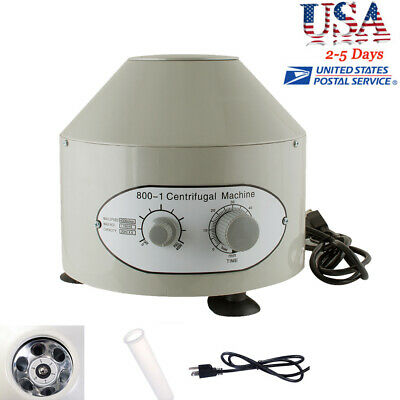 Professional Electric Centrifuge Machine Lab Medical Practice 4000rpm 20ml X 6