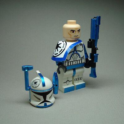 Custom Lego Star Wars Clone Rex  Arc Trooper Commander mini (Custom Lego Star Wars Clone Trooper Minifigures)
