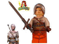 The Witcher 3 Ciri Minifigure Made using LEGO /& custom parts.