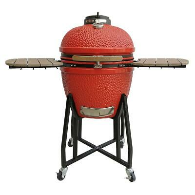 Vision Grills Kamado Grill Heat Thermometer Tool Holder Assembly-Required Red