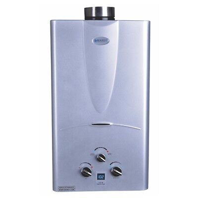 Marey 3 1 Gpm Tankless Natural Gas Hot Water Heater Digital Display Panel