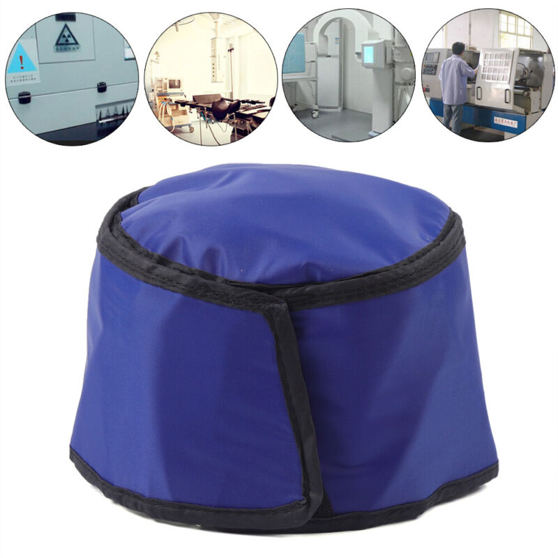 X-ray Lead Cap Inspection Radiation Protection Clothing Head Shield Hat 0.75mmpb