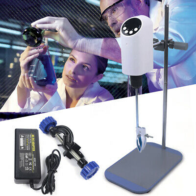 Laboratory 20l Electric Overhead Stirrer Mixer Agitator Homogenizer Digital