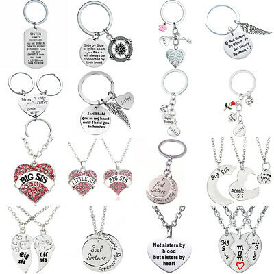 Best Gifts For Sister Friends Necklace Chain Jewelry Women Girls